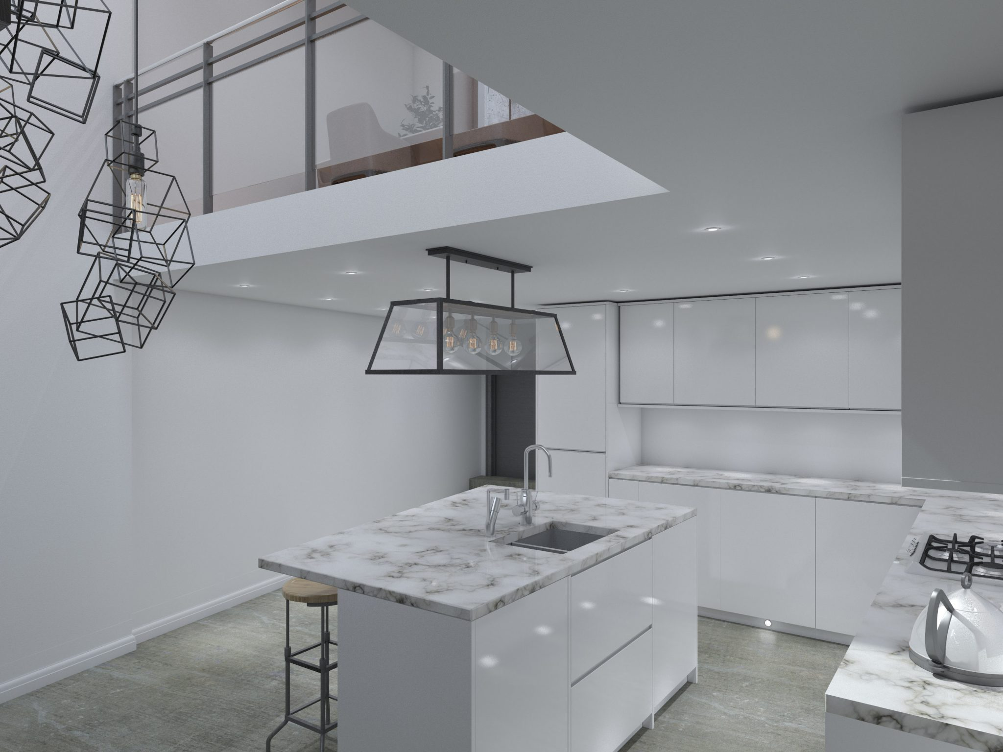 Flat conversion inside