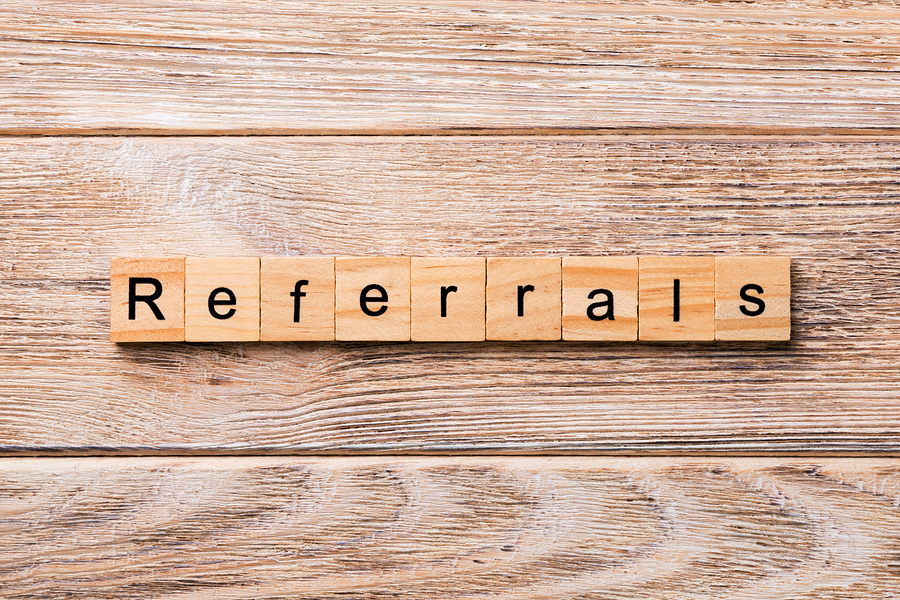 9. We'll provide you with local referrals.