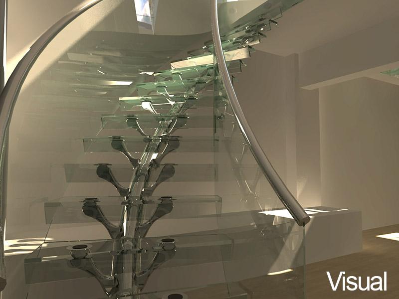 Visual-glass-stair