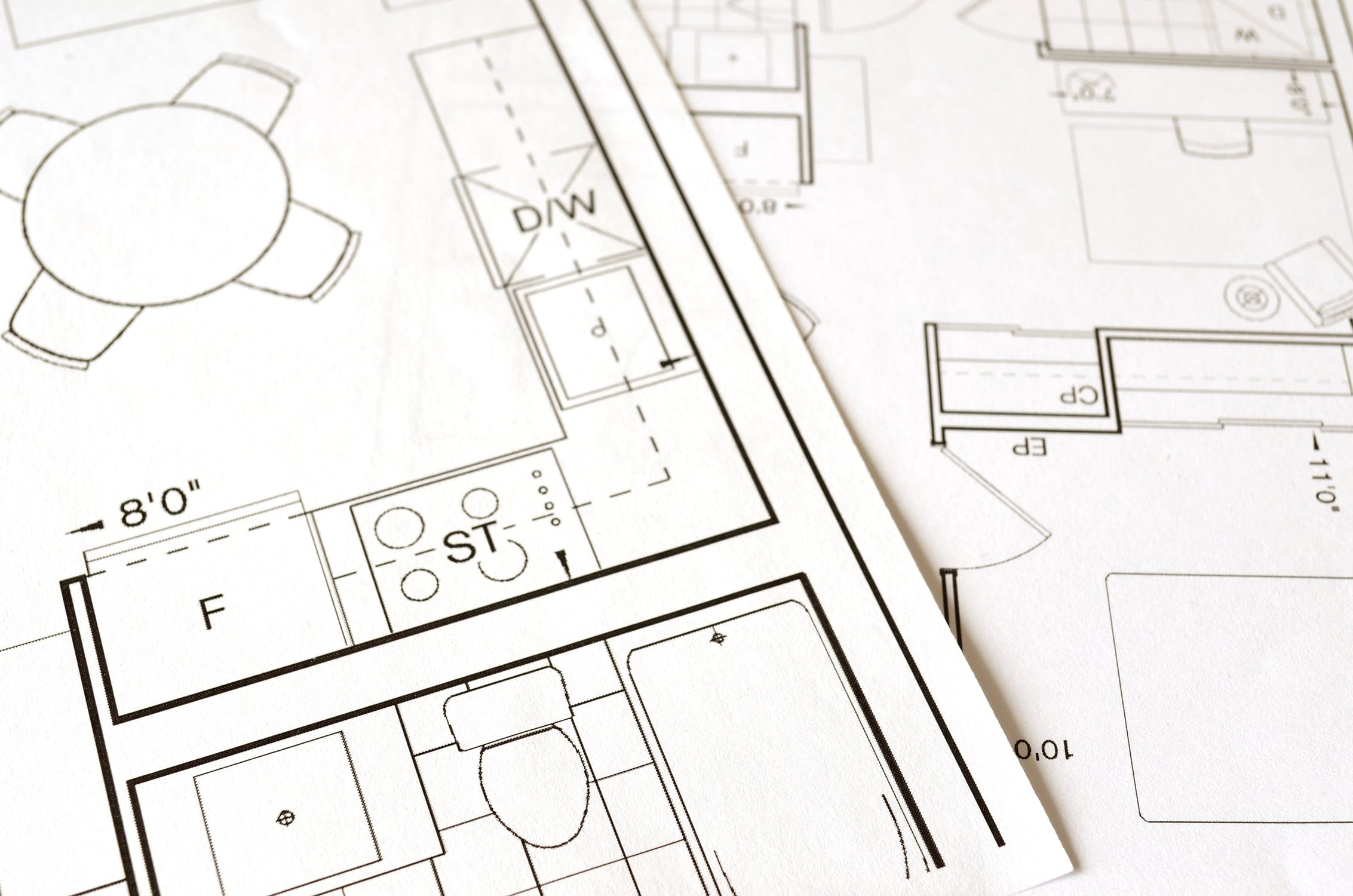 Planning drawings and planning application.